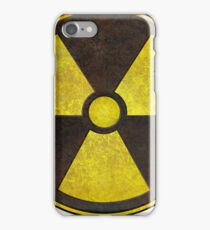 Radioactive Fallout Symbol - Scratched  iPhone Case/Skin