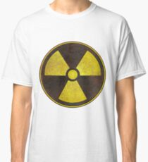 Radioactive Fallout Symbol - Scratched  Classic T-Shirt