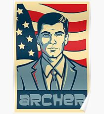 Archer for President - Archer Poster