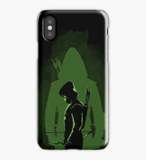 Green shadow iPhone Case/Skin