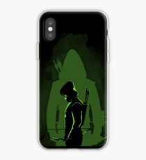 Green shadow iPhone Case