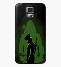 Green shadow Case/Skin for Samsung Galaxy