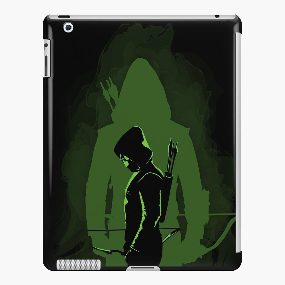 Green shadow iPad Case & Skin