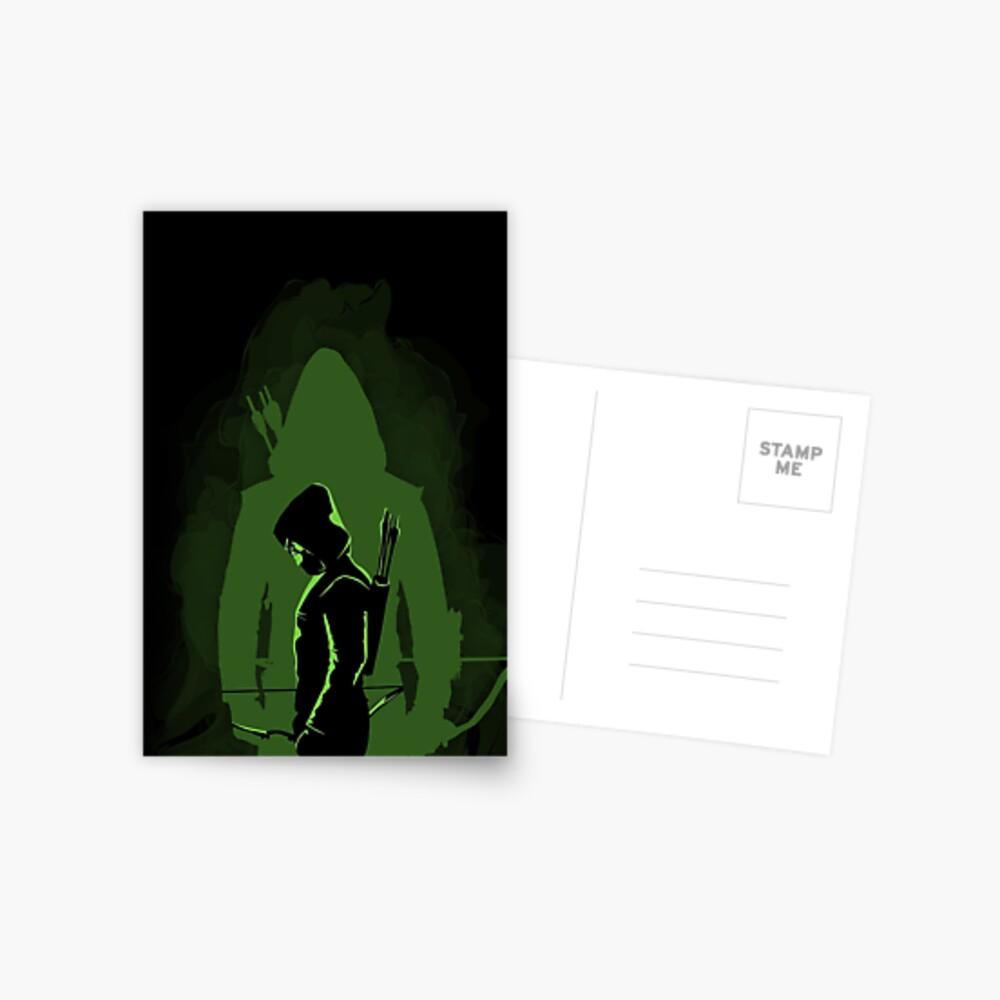 Green shadow Postcard