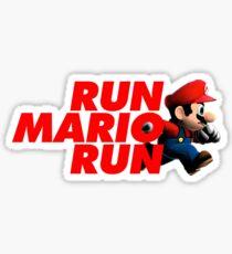 Super Mario - Run Mario Run - Clean Sticker