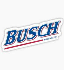 Busch Beer Sticker
