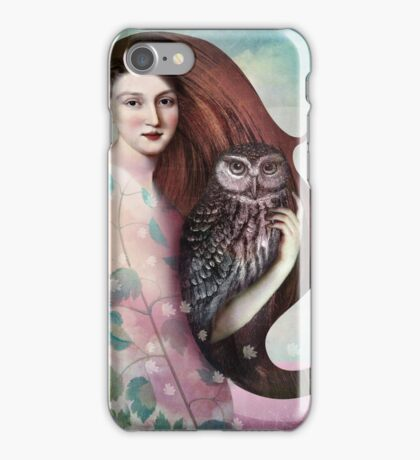 She and her Owl iPhone Case/Skin