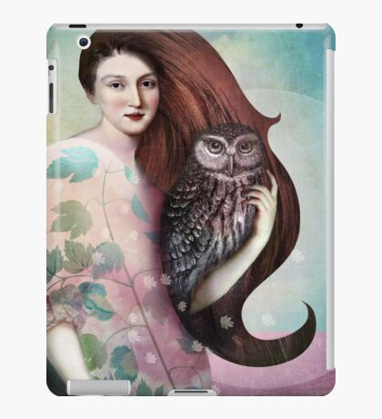 She and her Owl iPad Case/Skin