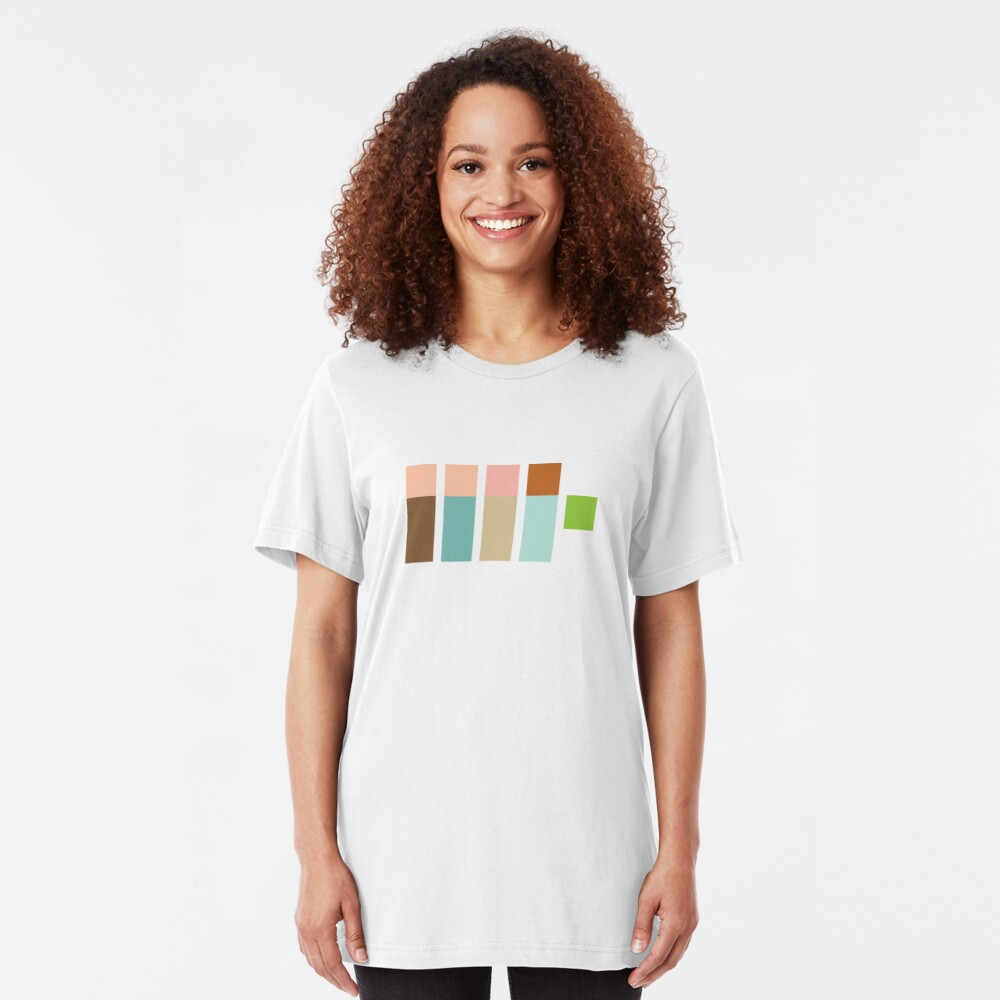 The Real Ghostpixels Slim Fit T-Shirt