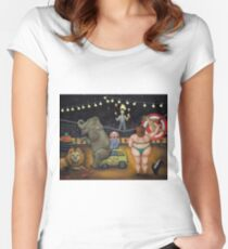 Nightmare Circus Women's Fitted Scoop T-Shirt