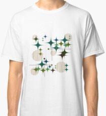 Eames-Ära Starbursts und Globen Classic T-Shirt