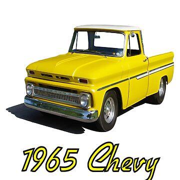 1965 Chevy Pickup by seansdigitalart