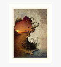 Jericho Rose. Art Print