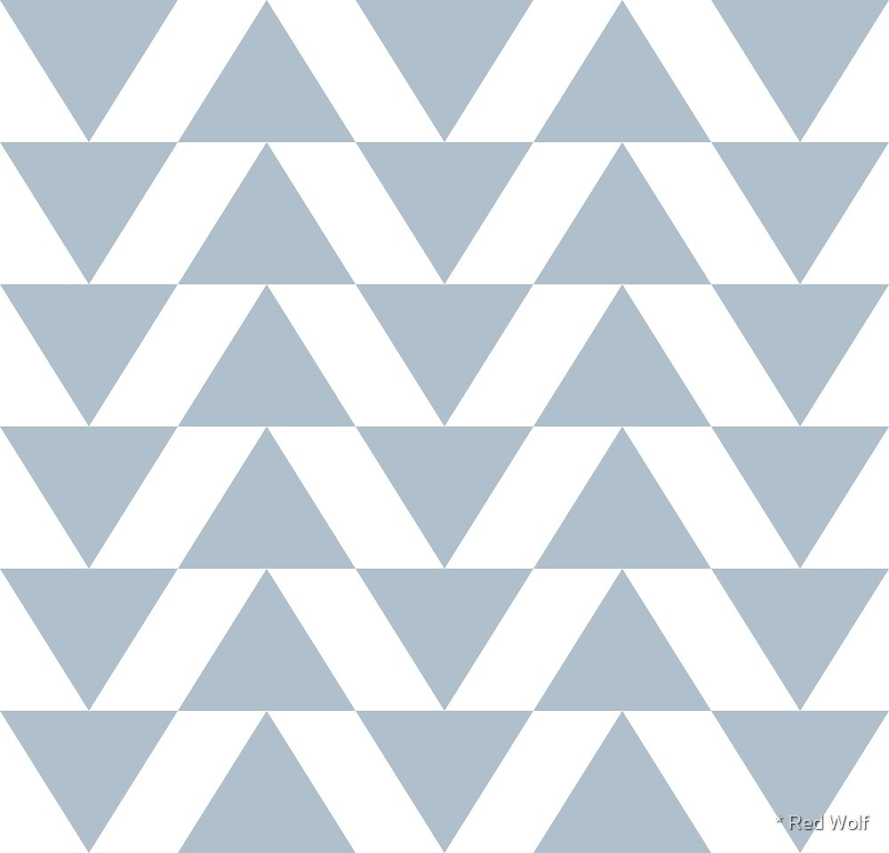 Geometric Pattern: Shark Teeth: SaltyBe by * Red Wolf