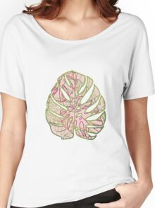 Leaves T-shirt femme coupe relax