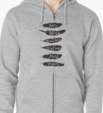 Sudadera con capucha y cremallera The Dregs - Six Of Crows
