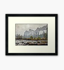 Rivers and Roads Framed Print