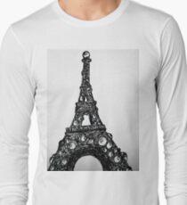 Eyeful Tower Black and White Long Sleeve T-Shirt