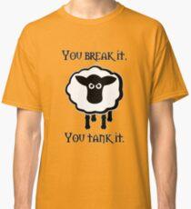 You Tank It - sheep (clean) Classic T-Shirt