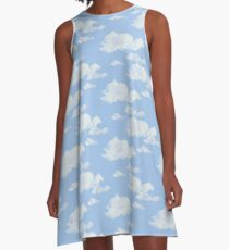 Blue Skies II A-Line Dress