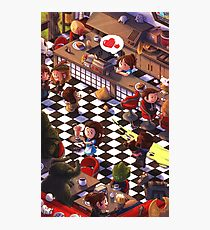 Clara's Diner Photographic Print