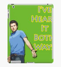 Shawn Spencer iPad Case/Skin
