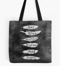 Bolsa de tela The Dregs - Six Of Crows (negro)