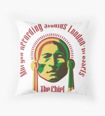 The Chief 2 Throw Pillow
