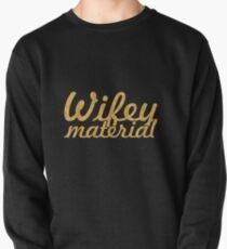 Wifey Material Pullover Sweatshirt