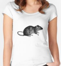 Rat Women's Fitted Scoop T-Shirt