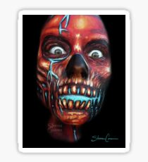 Molten Skull  Sticker