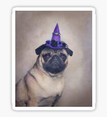 Peppa Pug Hates Halloween Sticker