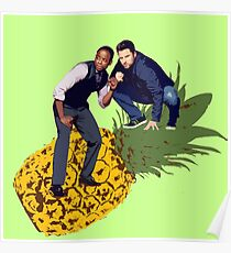 Shawn and Gus - Pineapple  Poster