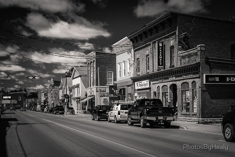 Small Town - Canadiana by Photos by Healy