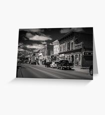 Small Town - Canadiana Greeting Card