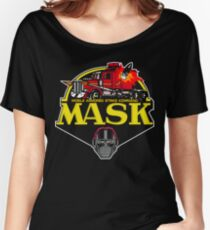 MASK Mobile Armored Strike Kommand Retro 80's Cartoon Women's Relaxed Fit T-Shirt