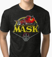 MASK Mobile Armored Strike Kommand Retro 80's Cartoon Tri-blend T-Shirt