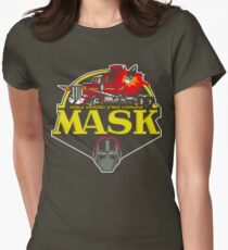 MASK Mobile Armored Strike Kommand Retro 80's Cartoon Womens Fitted T-Shirt
