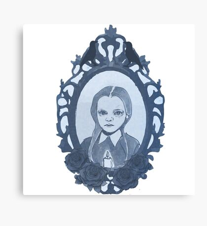 Little Addams Canvas Print