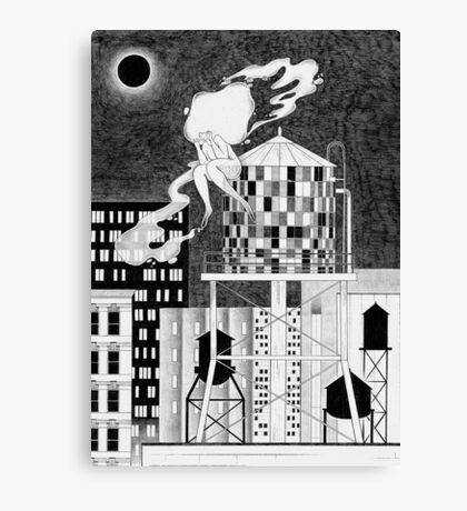 Night in NY Canvas Print