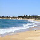 Sawtell Beach by Jodie Napier
