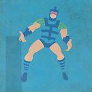 Infinity Man - Superhero Minimalist Alphabet Print Art by justicedefender