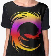 Colorful dragon - Eragon Women's Chiffon Top