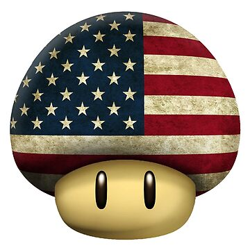 USA Mario's mushroom by Laflagan