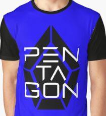 Pentagon Kpop Logo Graphic T-Shirt