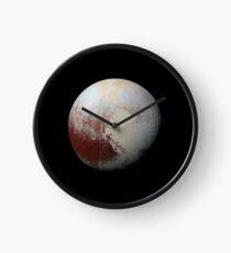 Pluto Foto Uhr