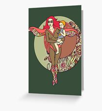 Alter Ego 2 Greeting Card