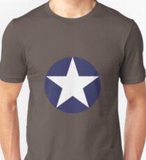 US Air Force Style Star Emblem Unisex T-Shirt