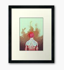 Engulf Framed Print