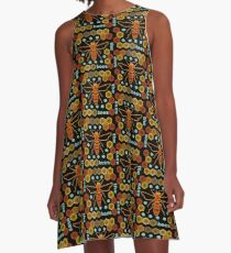 Save the Bees A-Line Dress